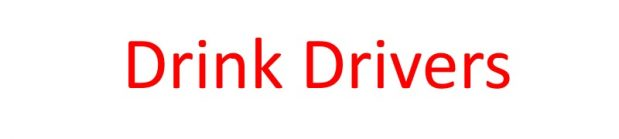 Personal Injury Claims involving Drink Drivers
